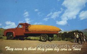 Big Corn in Iowa, USA