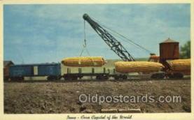 exa000203 - Iowa, Corn Capital Exaggeration Old Vintage Antique Postcard Post Card