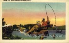 exa002056 - Exaggeration Old Vintage Antique Postcard Post Card
