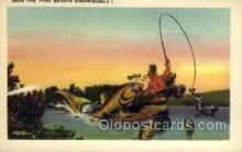 exa002068 - Exaggeration Old Vintage Antique Postcard Post Card