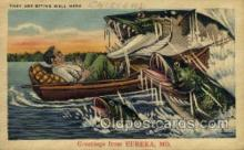 exa002072 - Eureka, Mo, USA Exaggeration Old Vintage Antique Postcard Post Card