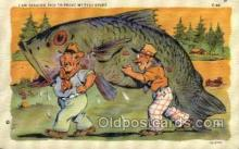 exa002105 - Exaggeration Old Vintage Antique Postcard Post Card