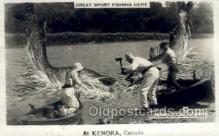 exa002164 - Kenora, Canada Exaggeration Old Vintage Antique Postcard Post Card