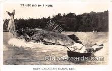 exa002247 - Me's Canadian Camps, LTD  Postcards Post Cards Old Vintage Antique