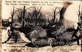 exa002267 - Uncle Hod & Cousin Purnell Van Buren, Arkansas, USA Postcards Post Cards Old Vintage Antique