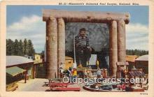 exa002343 - Minnesota's Animated Paul Bunyan Brainerd, Minn, USA Postcards Post Cards Old Vintage Antique