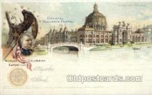 exp000006 - Government Buidling World's Columbian Expostion Old Vintage Antique Postcard Post Card
