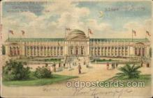 exp020009 - Hold To Light, Official Souvenier, St. Louis World's Fair Exposition 1904, Postcard Post Card