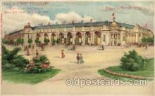 exp020014 - Hold To Light, Official Souvenir, St. Louis World's Fair Exposition 1904, Postcard Post Card