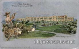 exp020017 - St. Louis World's Fair Exposition 1904, Postcard Post Card