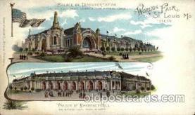 exp020030 - St. Louis World's Fair Exposition 1904, Postcard Post Card