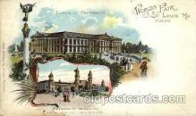 exp020031 - St. Louis World's Fair Exposition 1904, Postcard Post Card