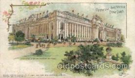 exp020032 - St. Louis World's Fair Exposition 1904, Postcard Post Card