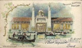 exp020034 - St. Louis World's Fair Exposition 1904, Postcard Post Card