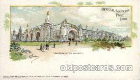 exp020036 - St. Louis World's Fair Exposition 1904, Postcard Post Card