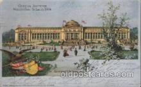 exp020046 - Government Building St. Louis Exposition 1904 Worlds Fair Postcard Post Card