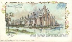 exp020052 - Electrical Buliding St. Louis Exposition 1904 Worlds Fair Postcard Post Card