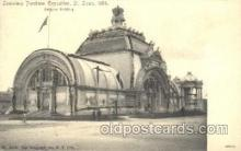 exp020053 - Belgium Building St. Louis Exposition 1904 Worlds Fair Postcard Post Card