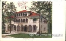 exp020055 - Oklahoma Building St. Louis Exposition 1904 Worlds Fair Postcard Post Card