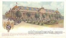 exp020057 - Palace of Manufactures St. Louis Exposition 1904 Worlds Fair Postcard Post Card