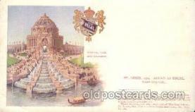 exp020058 - Festival Hall and Cascades St. Louis Exposition 1904 Worlds Fair Postcard Post Card