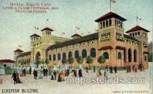 exp030002 - Louis & Clark Centennial, 1905 Exposition, Portland Oregon, USA Postcard Post Card