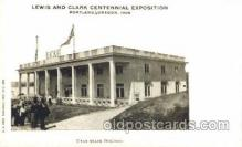 exp030017 - Utah State Building, 1910 Lewis & Clark Centennial Exposition, Postland, Oregon USA Postcard Post Card