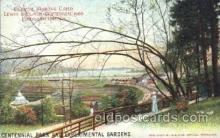 exp030021 - Centennial Park and Experimental Gardens 1914 Lewis & Clark Centennial Exposition, Postland, Oregon USA Postcard Post Card