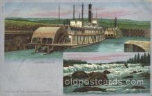 exp030028 - Cascade Locks 1921 Lewis & Clark Centennial Exposition, Postland, Oregon USA Postcard Post Card