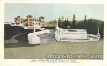 exp030038 - Grand staircase and European Building Lewis & Clark 1905 Exposition Postcard Post Card