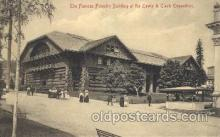 exp030039 - The famous Forestry Building Lewis & Clark 1905 Exposition Postcard Post Card