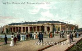 exp040009 - Jamestown Exposition 1907, Near Norfolk, Virginia, USA Postcard Post Card