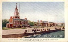 exp040015 - Jamestown Exposition 1907, Near Norfolk, Virginia, USA Postcard Post Card