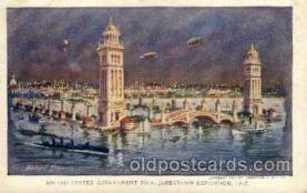 exp040030 - Jamestown Exposition 1907, Near Norfolk, Virginia, USA Postcard Post Card