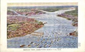 exp040050 - Jamestown Exposition 1907, Near Norfolk, Virginia, USA Postcard Post Card