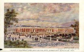 exp040052 - Jamestown Exposition 1907, Near Norfolk, Virginia, USA Postcard Post Card