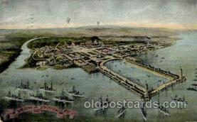 exp040060 - Jamestown Exposition 1907, Near Norfolk, Virginia, USA Postcard Post Card