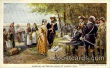 exp040063 - Landing of the Maidens at Jamestown Jamestown Exposition 1907, Postcard Post Card