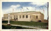 exp040072 - US. Government building Jamestown Exposition 1907, Postcard Post Card