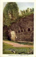 exp040080 - Cornwallis's cave Jamestown Exposition 1907, Postcard Post Card