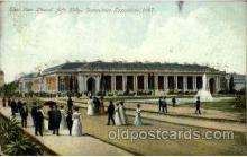 exp040082 - Liberal Art Building Jamestown Exposition 1907, Postcard Post Card