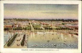 exp040083 - Raleigh court Jamestown Exposition 1907, Postcard Post Card