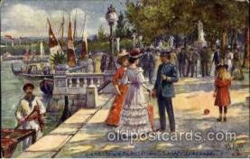 exp040085 - Shore Promenade Jamestown Exposition 1907, Postcard Post Card