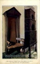 exp040086 - Speaker's chair and warming machine of the house of burgesses Jamestown Exposition 1907, Postcard Post Card