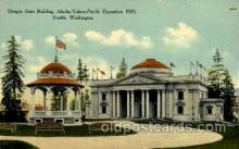 exp050015 - Alaska - Yukon Pacific Exposition, Seattle Washington, USA Postcard Post Card
