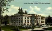 exp050059 - Alaska - Yukon Pacific Exposition, Seattle Washington, USA Postcard Post Card