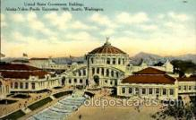 exp050067 - Alaska - Yukon Pacific Exposition, Seattle Washington, USA Postcard Post Card