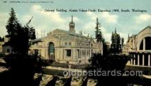 exp050075 - Alaska - Yukon Pacific Exposition, Seattle Washington, USA Postcard Post Card