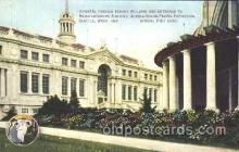 exp050083 - Oriental Foreign Exhibit Building 1909 Alaska - Yukon Pacific Exposition Seattle Washington, USA Postcard Post Card