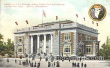 exp050084 - Washington State Building 1909 Alaska - Yukon Pacific Exposition Seattle Washington, USA Postcard Post Card